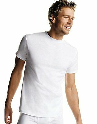 Hanes Men's Tagless Crewneck Undershirt 100% Comfort-Soft Cotton T-Shirt NEW
