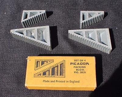 Set of 4 Picador Packing Blox 205 & 206 in original box Made in Great Britain