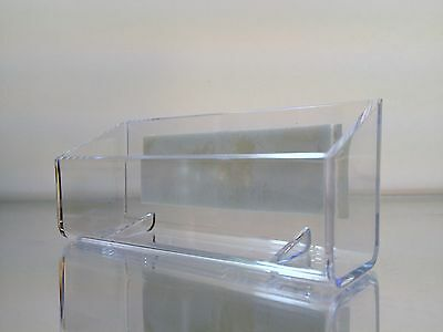 New Self-stick clear acrylic plastic business card display holder