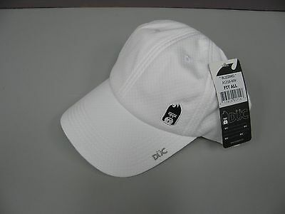 Duc Tennis Hat Sport Cap White New One Size Fits All Adjustable