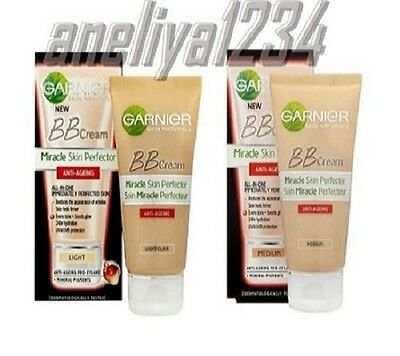 GARNIER 50 ml. Miracle Skin Perfector All in One BB Cream Anti-Ageing SPF 15,F&F