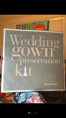 David's Bridal Wedding Gown Preservation Kit