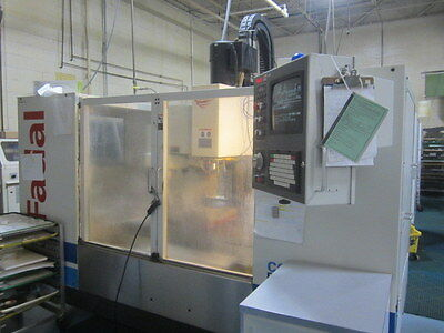 Fadal VMC-4020HT CNC Machining Center with Fadal 4th Axis Rotary Table