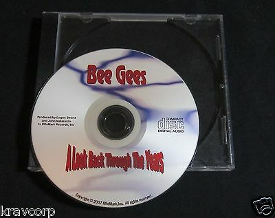 Bee Gees 'A Look Back Through The Years' 2007 Promo Cd