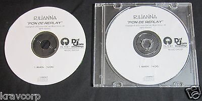 Rihanna 'Pon De Replay' 2005 Promo Cd Single