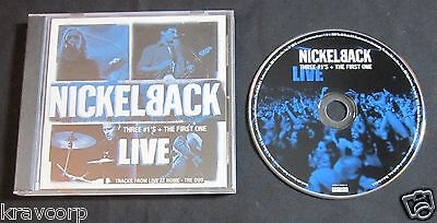 NICKELBACK 'THREE #1's + THE FIRST ONE' 2002 PROMO CD