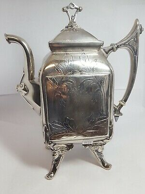Vintage Reed and Barton Pattern 2589 Silver Plate Teapot