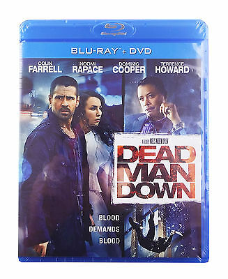 Dead Man Down (Blu-ray/DVD, 2013, 2-Disc Set) - Colin Farrell, Terence Howard