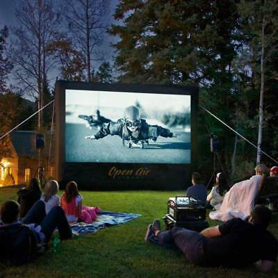 Open Air Cinema CineBox Home 9'x5' Backyard High Def Theater Sys 16x9 Wide CBH-9