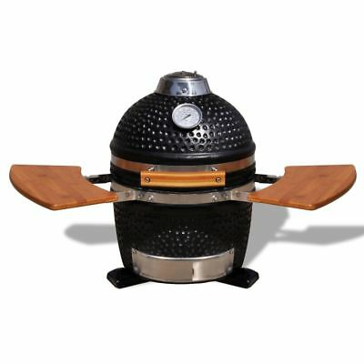 New Kamado Barbecue Grill BBQ Grill Smoker Cooking Appliance Ceramic 44 cm