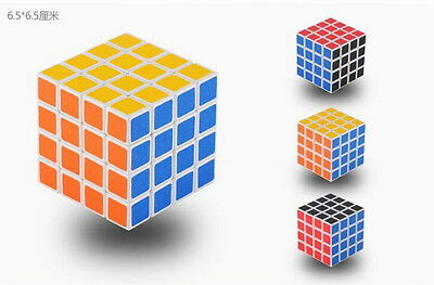 Fashion Magic ABS Ultra-smooth 4x4x4 Speed Cube  Puzzle Twist Toys