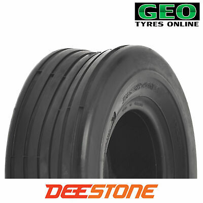 18x8.50-8  D837 (4 PLY) Deestone Rib Riding Mower Tyre 18 X 850 X 8