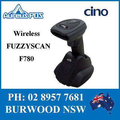CINO Wireless Barcode Scanner F780 USB Bluetooth POS