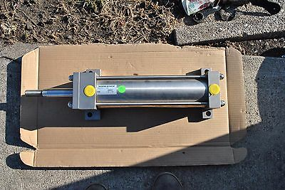 NEW Numatics QH-456122-1 10 IN Stroke 3-1/4 IN Bore Stainless Pneumatic Cylinder