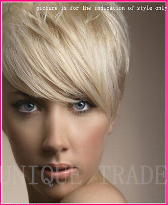 100% Human Hair Top Clip In Fringe / Bangs Hair Piece Extensions