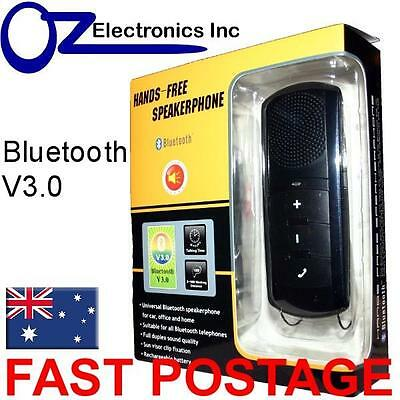 Bluetooth V3 car kit handsfree compatible with iphone galaxy Holden Toyota Mazda
