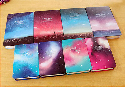 Silent Night Metal Cover Sketchbook Personal Diary Journal Planner Notebook Gift