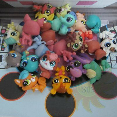 5x Littlest Pet Shop Animals Collection Mini Baby Figure Loose LPS Child Toys