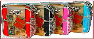 Fridge To Go Small Lunchbox COOLER BAG Pink Red Black Blue Cool Kids Baby