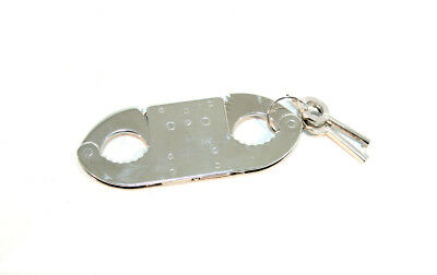Proffesional Metal ThumbCuffs Comes With 2 Keys