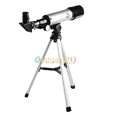 360*50mm 90X Zoom Refractor Monocular Astronomical Telescope Spotting Scope【AU】