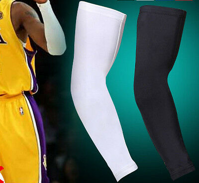 Sports Pads Compression Arm Sleeve Support Stretch Baseball Football Basketball