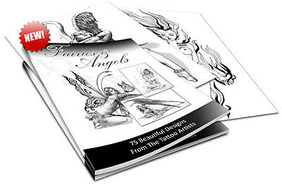 E Books Sale-Dazzling Fairies And Angels Tattoos & Religious Tattoos On Cd