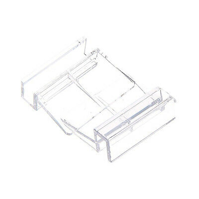 4x Aquarium Fish Tank Acrylic Fixed Cover Clip Clamp Support Holder BF