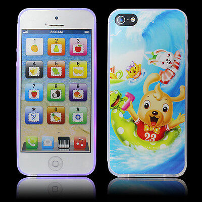 Y-Phone Educational Learning Kids TOY iPhone 4s 5 Childs Xmas Gift White