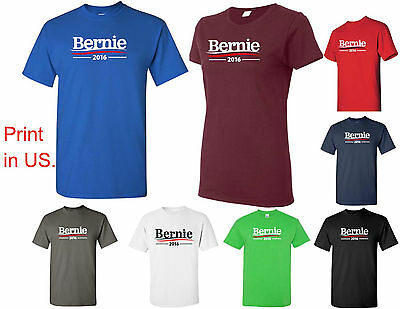 Bernie Sanders for president 2016 Election Campaign T Shirt Feel the Bern Shirt
