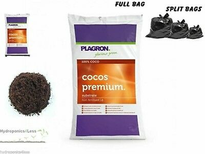 PLAGRON CoCos 10 25 or 50L Natural Coir Massive Yield Hydroponics CoCo Grow