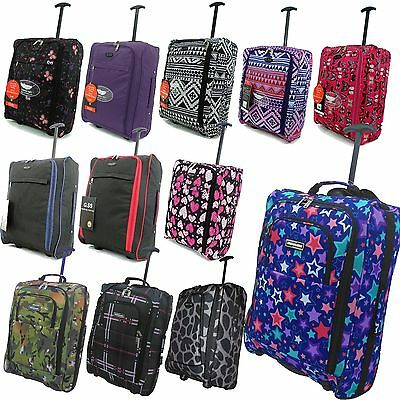 Hand Luggage 50X40X20 Wheeled Lightweight Cabin Case For Easyjet & Ryanair