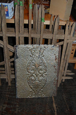 Vintage Decorative Piece Of Tin Ceiling From Dayton,ohio 15 Available