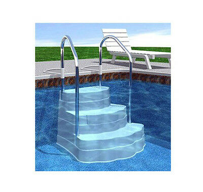 Oasis Drop in Inground Step for In Ground Pools