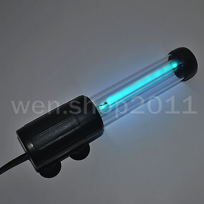 Ultrashort Design Aquarium Tank Internal Submersible UV Sterilizer Light 7W / 9W