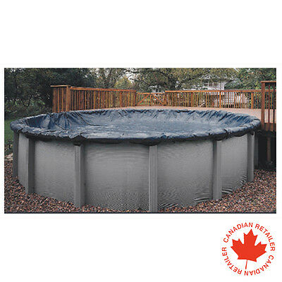 15 ft Round Above Ground Swimming Pool Winter Cover 8 Year Warranty
