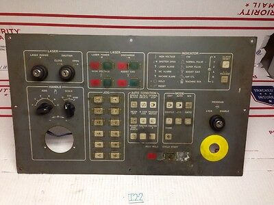 Mazak Laser Control Panel Space Gear Panel Rev. 1.0 (0004051) *Fast Shipping*