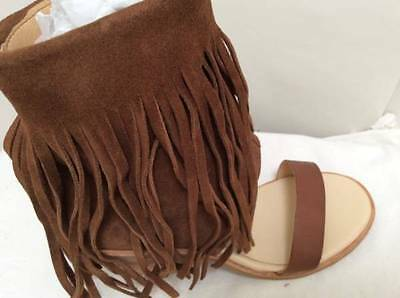 ba23079b38c Koolaburra Piaz II Kona Brown Fringe Zipper 3