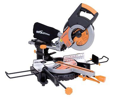 "Evolution RAGE3 10"" Multipurpose Sliding Miter Saw w/RAGE355BLADE"