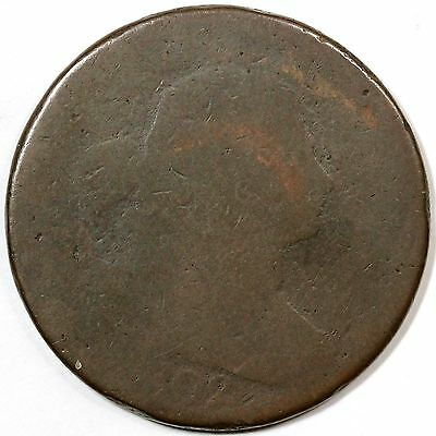 1802 S-231 Draped Bust Large Cent Coin 1c
