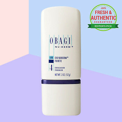 Obagi Nu-Derm Exfoderm Forte 2 oz 57 g. Sealed Fresh