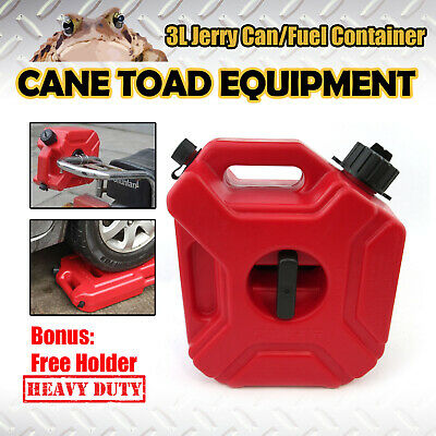 3L Jerry Can Spare Container With Free Holder Fuel Container Heavy Duty