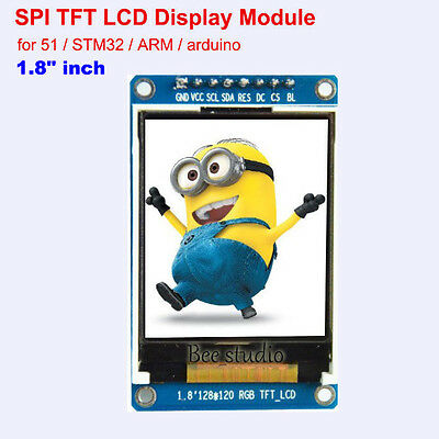 "1.8"" inch Full Color 128x160 SPI TFT LCD Display Module for 51 or Arduino uno r3"