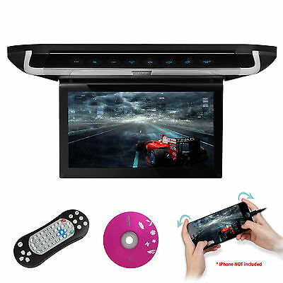 """XTRONS 10"""" Auto Deckenmonitor DVD Player HDMI TouchPanel TFT Monitor HD LED roof"""