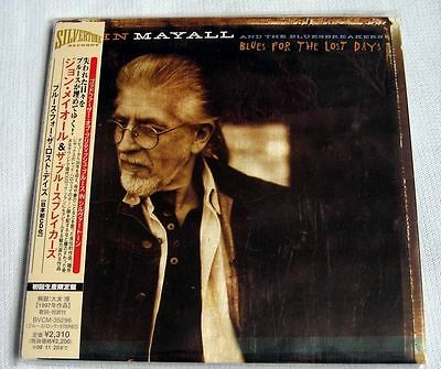 John Mayall - Blues for the Lost Days (1997) / JAPAN Mini LP CD (2008) NEW
