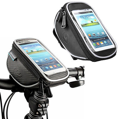 """Roswheel Cycling Bike Bicycle Accessories Front Top Frame Handlebar Bag Pouch 5"""""""