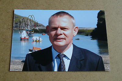 Martin Clunes Signed 6x4 Photo Genuine Doc Martin Autograph TV Memorabilia + COA