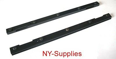 Brand New Pair of Steel Blanket Bars for Heidelberg GTO 46 Offset Printing Press