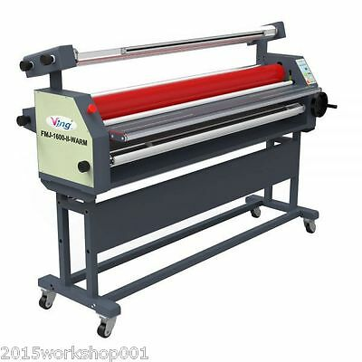 """63"""" Full - auto Wide Format Roll Heat Assisted Cold Laminator with Stand -BY SEA"""