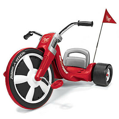 New Radio Flyer Red Rideon Kids Tricycle Girl Boy Toy Toddler Big Wheel Outdoor